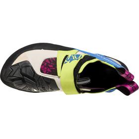 La Sportiva Skwama Climbing Shoes Women Apple Green/Cobalt Blue